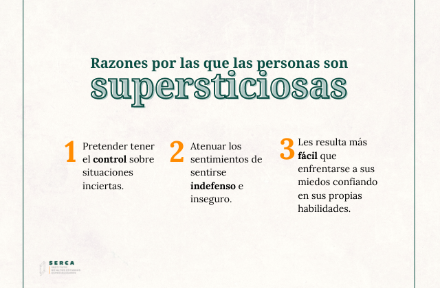 3 razones por las que somos supersticiosos